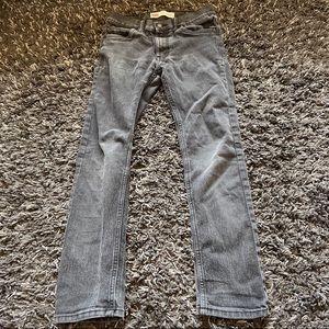 Levi's 510 skinny washed black